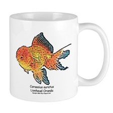 Carassius auratus Lionhead or Mug
