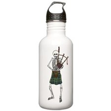 Bagpiper Skeleton Water Bottle