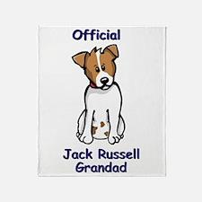 JR Grandad Throw Blanket