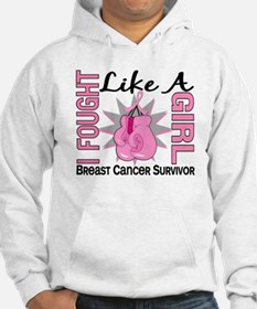 Licensed Fought Like a Girl 8S Hoodie
