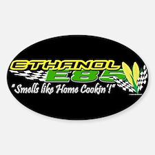 ETHANOL E85 Sticker (Oval)