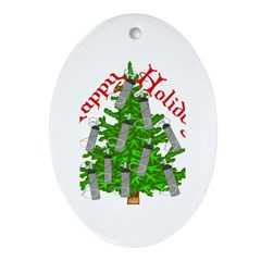 Nurse Christmas Ornament (Oval)