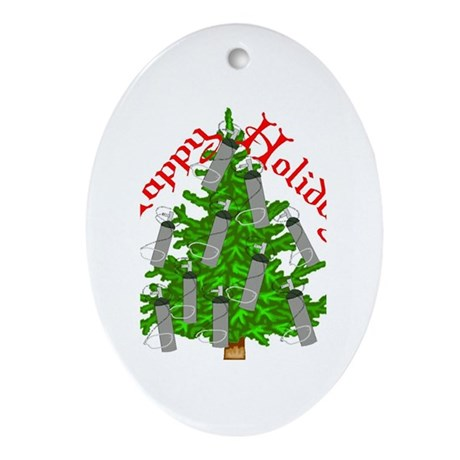 Nurse Christmas Ornament (Oval)