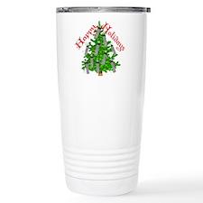 Nurse Christmas Travel Coffee Mug