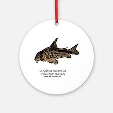 Corydoras leucomelas (Cory Ca Ornament (Round)