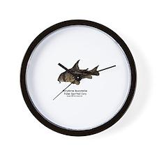 Corydoras leucomelas (Cory Ca Wall Clock