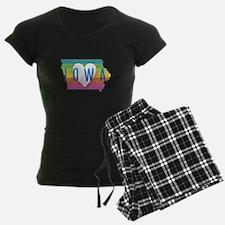 Iowa Heart Rainbow Pajamas