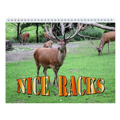 Nice Racks Wall Calendar (Deer, Elk & Moose)