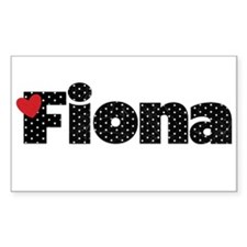 Fiona Decal