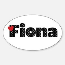 Fiona Sticker (Oval)