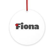 Fiona Ornament (Round)