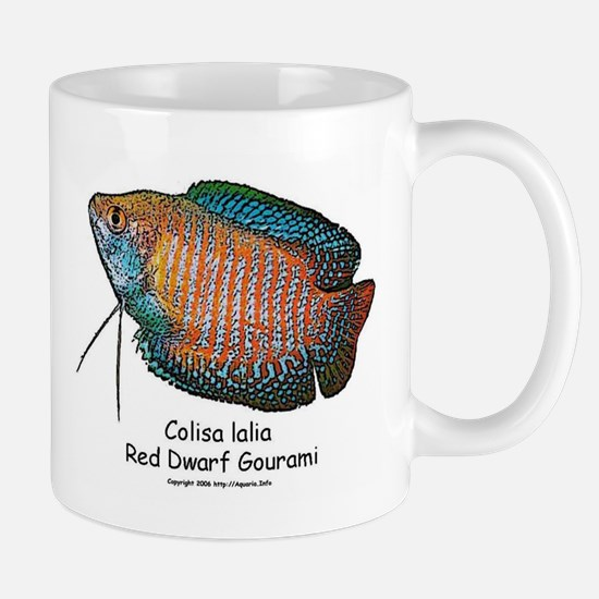 Colisa lalia (red dwarf goura Mug