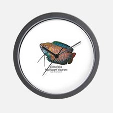 Colisa lalia (red dwarf goura Wall Clock