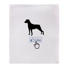 Mountain Cur Throw Blanket