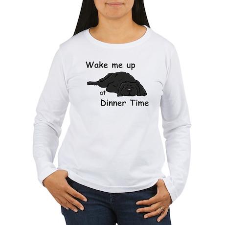 Wake Up for Dinner Women's Long Sleeve T-Shirt