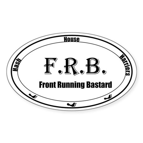FRB Sticker (Oval)