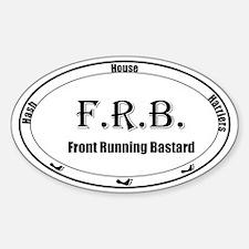 FRB Sticker (Oval)