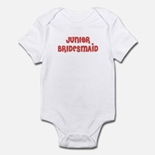 Heart Jr. Bridesmaid Infant Creeper