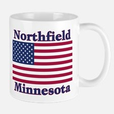 Northfield US Flag Mug