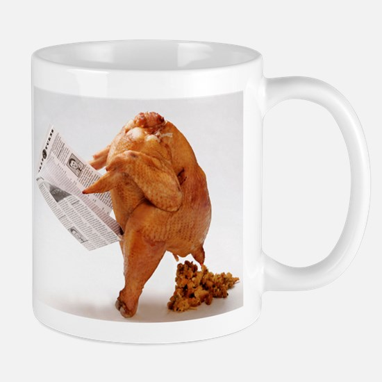 Thanksgiving Funny Turkey Mug