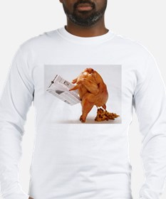 Thanksgiving Funny Turkey Long Sleeve T-Shirt