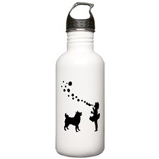 Norwegian Elkhound Water Bottle