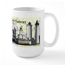 Great Lakes Lighthouses Mug