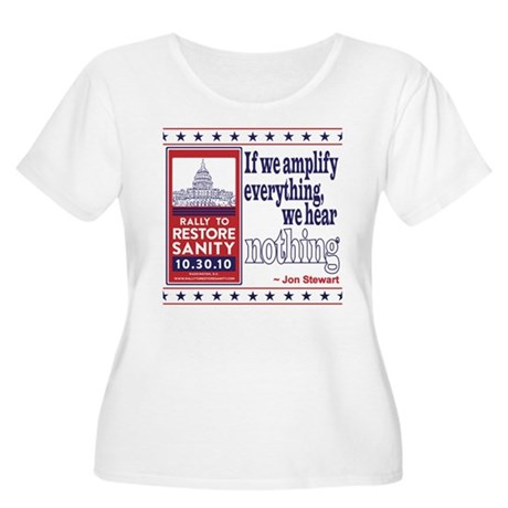 Amplify Everything Women's Plus Size Scoop Neck T-