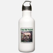 I Love old Corn binders Water Bottle