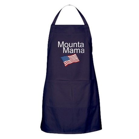 Mountain Mama Apron (dark)