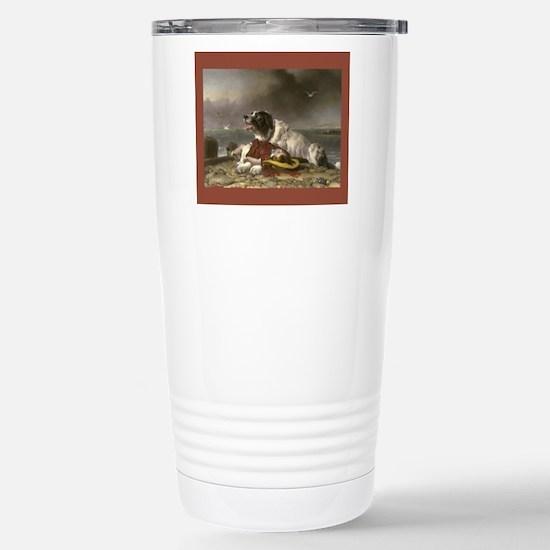 Landseer--Saved Stainless Steel Travel Mug