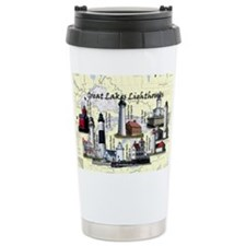 Great Lakes Lighthouses Travel Mug
