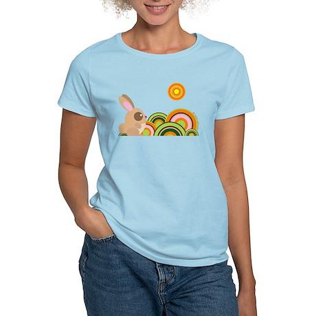 """""""Woodland Bunny"""" Women's Light T-Shirt"""