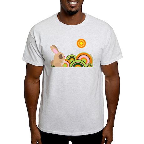 """Woodland Bunny"" Light T-Shirt"