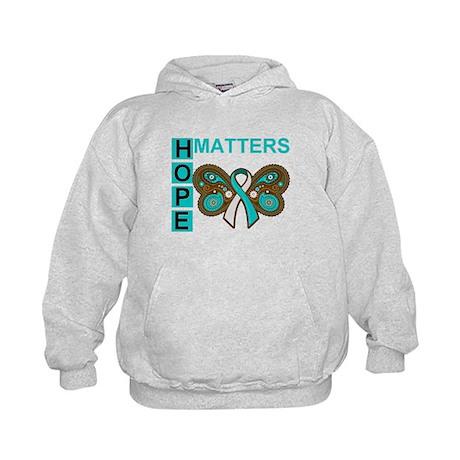 Hope Matters Cervical Cancer Kids Hoodie