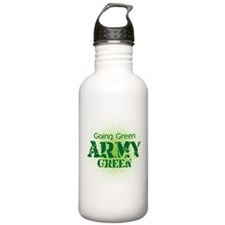 Going Green Army Green Sports Water Bottle
