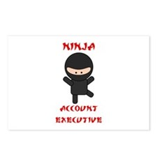 Ninja Account Executive Postcards (Package of 8)