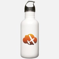 Aviation - Plane & Cloud Water Bottle