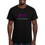 Big Purple PP Gift Men's Fitted T-Shirt (dark)