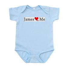 James Loves Me Infant Creeper