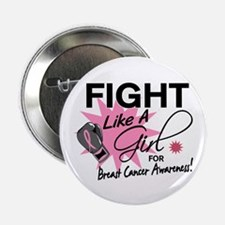 """Licensed Fight Like a Girl 11.5 2.25"""" Button"""