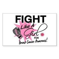 Licensed Fight Like a Girl 11. Decal