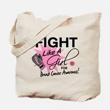 Licensed Fight Like a Girl 11.5 Tote Bag