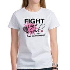 Licensed Fight Like a Girl 11.5 Tee
