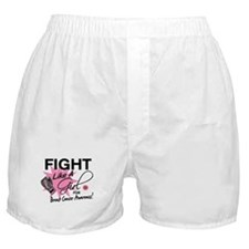 Licensed Fight Like a Girl 11.5 Boxer Shorts
