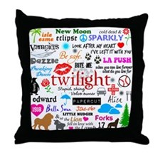 Twilight Memories Throw Pillow