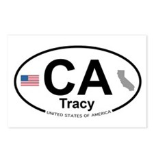 Tracy Postcards (Package of 8)