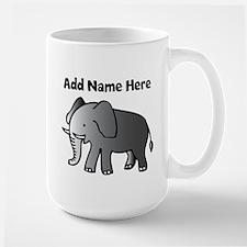 Personalized Elephant Mugs