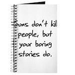 I Do My Own Stunts Shirt Journal