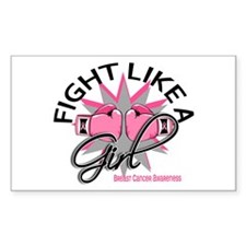 Licensed Fight Like a Girl 12. Decal